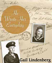 Cover for He Wrote Her Everday by Gail Lindenberg