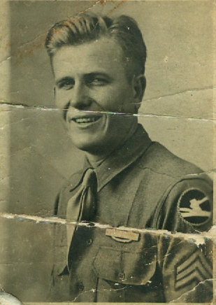 Staff Sergeant James William Hendrickson, Jr. 1945